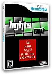 Lightsout Homebrew cover (DLOA)