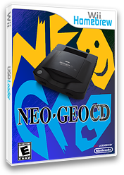 NeoCD-Wii Homebrew cover (DNCA)