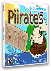 Piirates Homebrew cover (DP4A)