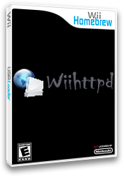 Wiihttpd Homebrew cover (DQ9A)