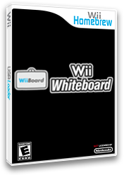 Wii Whiteboard Homebrew cover (DR1A)