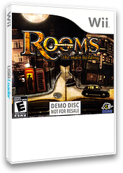 Rooms: The Main Building (Demo) Wii cover (DRME18)