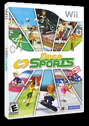 Deca Sports (Demo) Wii cover (DXSE18)
