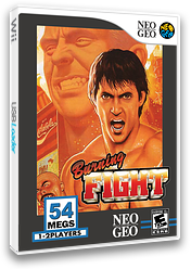 Burning Fight VC-NEOGEO cover (EAKE)