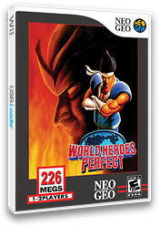 World Heroes Perfect VC-NEOGEO cover (EAZE)