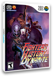Fighters History Dynamite VC-NEOGEO cover (EBBE)