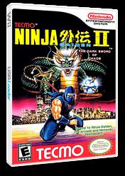 Ninja Gaiden II: The Dark Sword of Chaos VC-NES cover (FCQE)