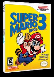 Super Mario Bros. 3 VC-NES cover (FCWE)