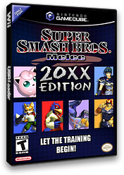 Super Smash Bros. Melee: 20XX Training Pack CUSTOM cover (G02E01)