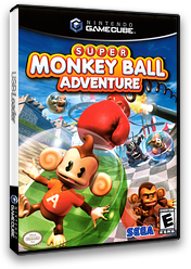 Super Monkey Ball Adventure GameCube cover (G3LE8P)