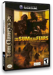 Tom Clancy's The Sum of All Fears GameCube cover (G3ME41)