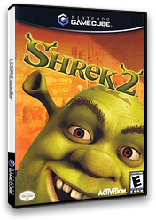 Shrek 2 GameCube cover (G3RE52)
