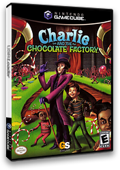 Charlie and the Chocolate Factory GameCube cover (G4CE54)