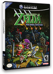 The Legend of Zelda: Four Swords Adventures GameCube cover (G4SE01)