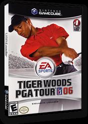 Tiger Woods PGA Tour 06 GameCube cover (G6WE69)