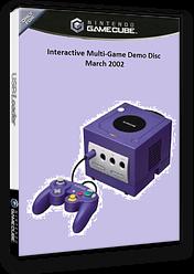 Interactive Multi-Game Demo Disc - March 2002 GameCube cover (G97E01)