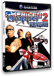American Chopper 2 - Full Throttle GameCube cover (GAPE52)