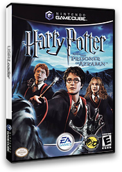 Harry Potter and the Prisoner of Azkaban GameCube cover (GAZE69)