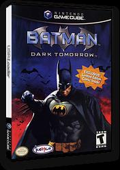 Batman: Dark Tomorrow GameCube cover (GBME7F)