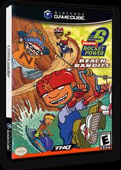 Rocket Power: Beach Bandits GameCube cover (GBQE78)