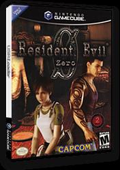 Resident Evil Zero GameCube cover (GBZE08)