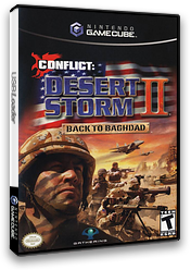 Conflict: Desert Storm II: Back to Baghdad GameCube cover (GC2E9G)