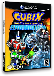 Cubix: Robots for Everyone Showdown GameCube cover (GCAE5H)