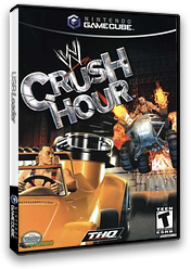 WWE Crush Hour GameCube cover (GCHE78)
