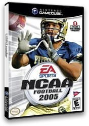 NCAA Football 2005 GameCube cover (GCUE69)
