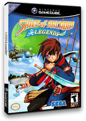 Skies of Arcadia Legends GameCube cover (GEAE8P)