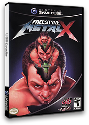 Freestyle Metal X GameCube cover (GFXE5D)