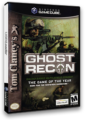 Tom Clancy's Ghost Recon GameCube cover (GGRE41)