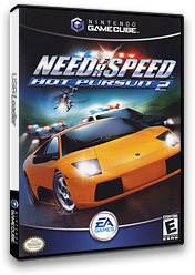 Need for Speed: Hot Pursuit 2 GameCube cover (GH2E69)