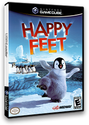 Happy Feet GameCube cover (GH7E5D)