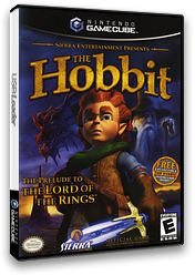 The Hobbit GameCube cover (GHBE7D)