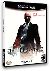 Hitman 2: Silent Assassin GameCube cover (GHME4F)