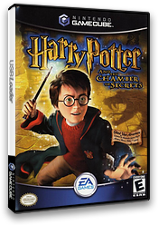 Harry Potter and the Chamber of Secrets GameCube cover (GHSE69)