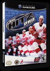 NHL Hitz Pro GameCube cover (GHZE5D)