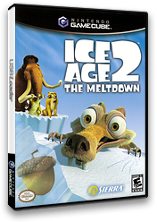 Ice Age 2: The Meltdown GameCube cover (GIAE7D)