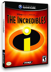 The Incredibles GameCube cover (GICE78)
