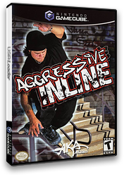 Aggressive Inline GameCube cover (GILE51)