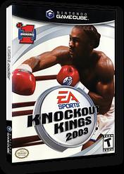 Knockout Kings 2003 GameCube cover (GKKE69)