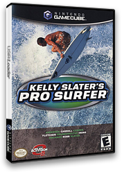 Kelly Slater's Pro Surfer GameCube cover (GKSE52)