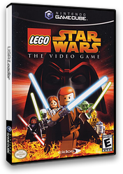 LEGO Star Wars: The Video Game GameCube cover (GL5E4F)