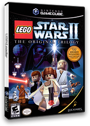 LEGO Star Wars II: The Original Trilogy GameCube cover (GL7E64)