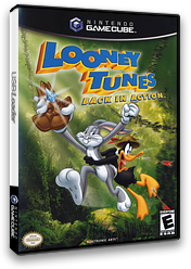 Looney Tunes:Back in Action GameCube cover (GLNE69)