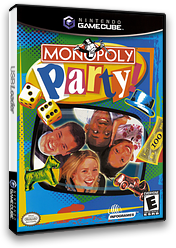 Monopoly Party GameCube cover (GMQE70)