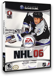 NHL 06 GameCube cover (GN6E69)