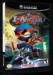 I-Ninja GameCube cover (GNJEAF)