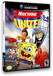 Nicktoons Unite! GameCube cover (GNOE78)